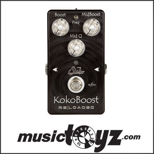 Suhr Koko Boost Reloaded Clean Boost Guitar Pedal - NEW - FREE Ship Gift