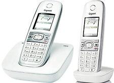 Siemens Gigaset C610H DECT schnurlos Telefon mit Mobilteil+Basisstation/DUO / 2x