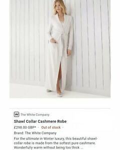 the-white-company-100-Cashmere-Grey-Gown-Sz-X-Small-298