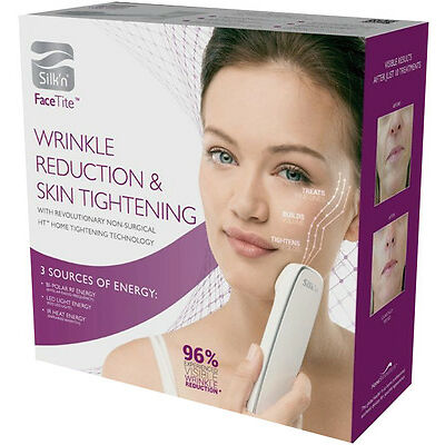 Silk'n Face Tite Facial Skin Tightening and Wrinkle Reduction Machine