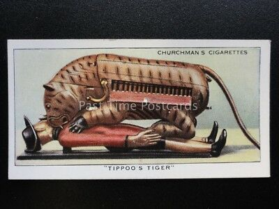 No.39 TIPPOO/'S TIGER Treasure Trove Churchman 1937
