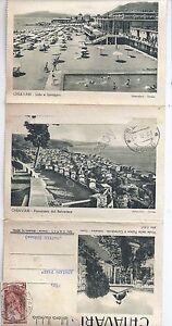 Cartolina-Lettera-Illustrata-Chiavari-Varie-vedute-1951