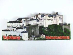 Salzburgo-3D-Madera-Recuerdo-Deluxe-Iman-Austria-Austria-Nuevo