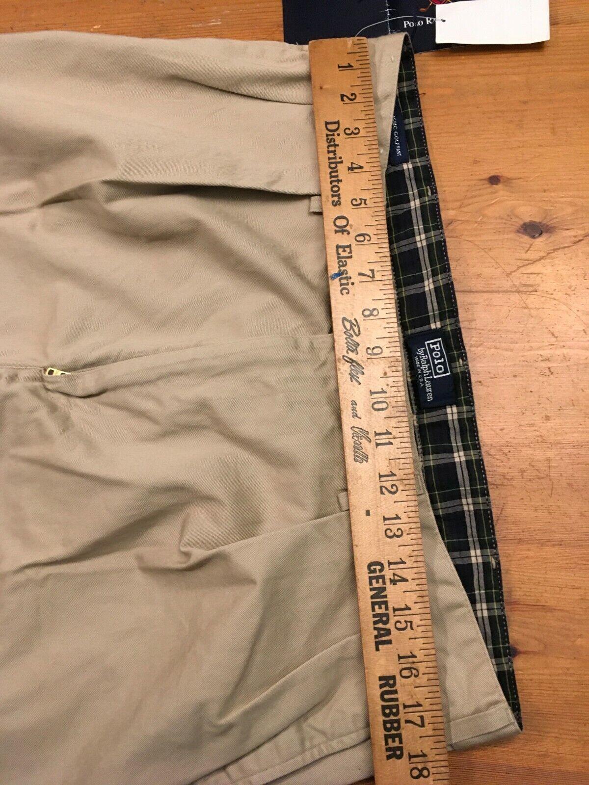 VTG 80s NOS Polo Ralph Lauren Classic Golf Pants … - image 9
