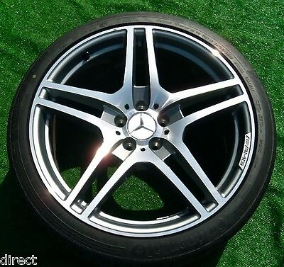 Genuine Original Oem Amg Factory Mercedes Benz Sls Forged Wheels 90 Tires Sls63 Ebay