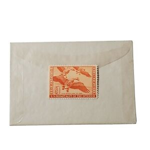 RW11 1944 $1 Migratory Bird Hunting Stamp Duck Unsigned OG
