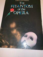 Phantom of the Opera Sheet Music Easy Adult Piano NEW 000001632