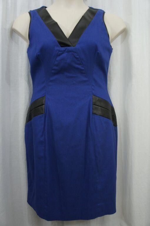 Cenia New York Dress Sz 8 Cobalt bluee  Marilyn  Sleeveless Business Dinner Dress