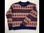 J-Crew-Womens-Pullover-Sweater-Pink-Nordic-Fair-Isle-Long-Sleeves-Lambswool-XXS thumbnail 1