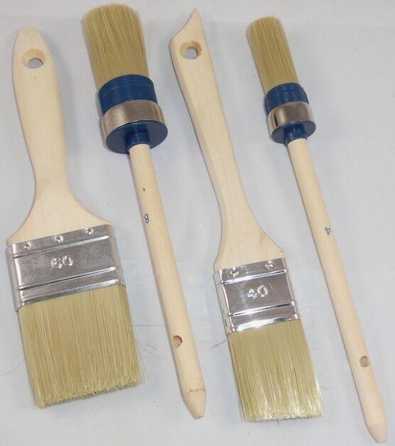12 X Gr 4 Ringpinsel Rundpinsel Pinsel Malerpinsel Industriepinsel Malerbedarf