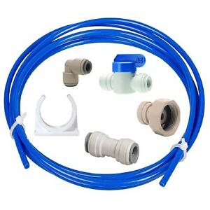 American-Style-Fridge-Freezer-Water-Hose-Connection-to-Main-Filter-Set-10