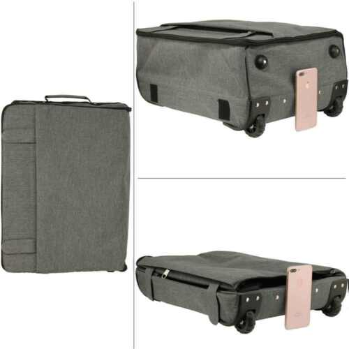 TRAVEL Luggage Hand Bag Large Wheeled Trolley Holdall Handle CABIN APPROVED