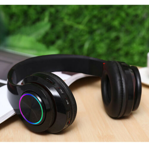 Over Ear Kopfhörer Bluetooth Kabellos Kopfhorer Faltbare MP3 Play mit Mikrofon