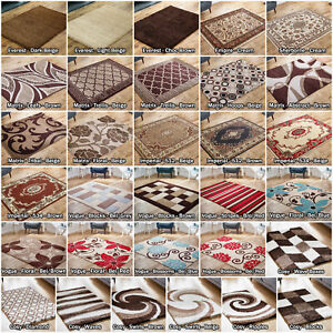BROWN-BEIGE-LARGE-MODERN-CLASSIC-IMPERIAL-QUALITY-SALE-AREA-RUGS-RUNNER-LOW-COST