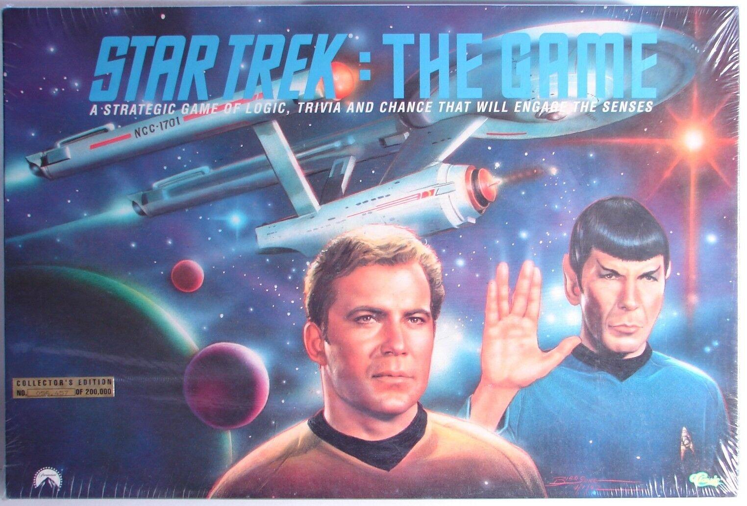 Star Trek Classic Golden Game Mib Nib Versiegelt, 1992 1992 1992 054209