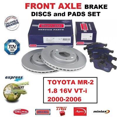Front Brake Pads For Toyota MR 2 1.8 16V VT-i