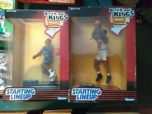 1997 Grant Hill Backboard Kings nba Starting Lineup figure plus Scottie Pippen