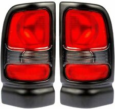 Fits 94-01 Dodge Ram Pickup Tail Light Rear Lamp Taillight PAIR Left & Right NEW