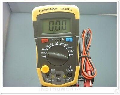 b Digital Capacitor Capacitance Cap Meter  XC6013 Range 200pF - 20mF 2% Accuracy