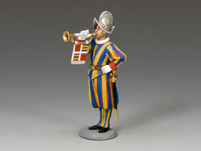 CE020 Swiss Guardsman Musician Trumpeter by King & Country