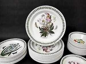1-Only-Portmeirion-Botanic-Garden-CHRISTMAS-ROSE-Dinner-Plate-10-1-2-034