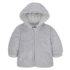 8a9b74847726 Baby Boys Girls Hooded Snowsuit Soft Feather Fleece Fur Pramsuit ...