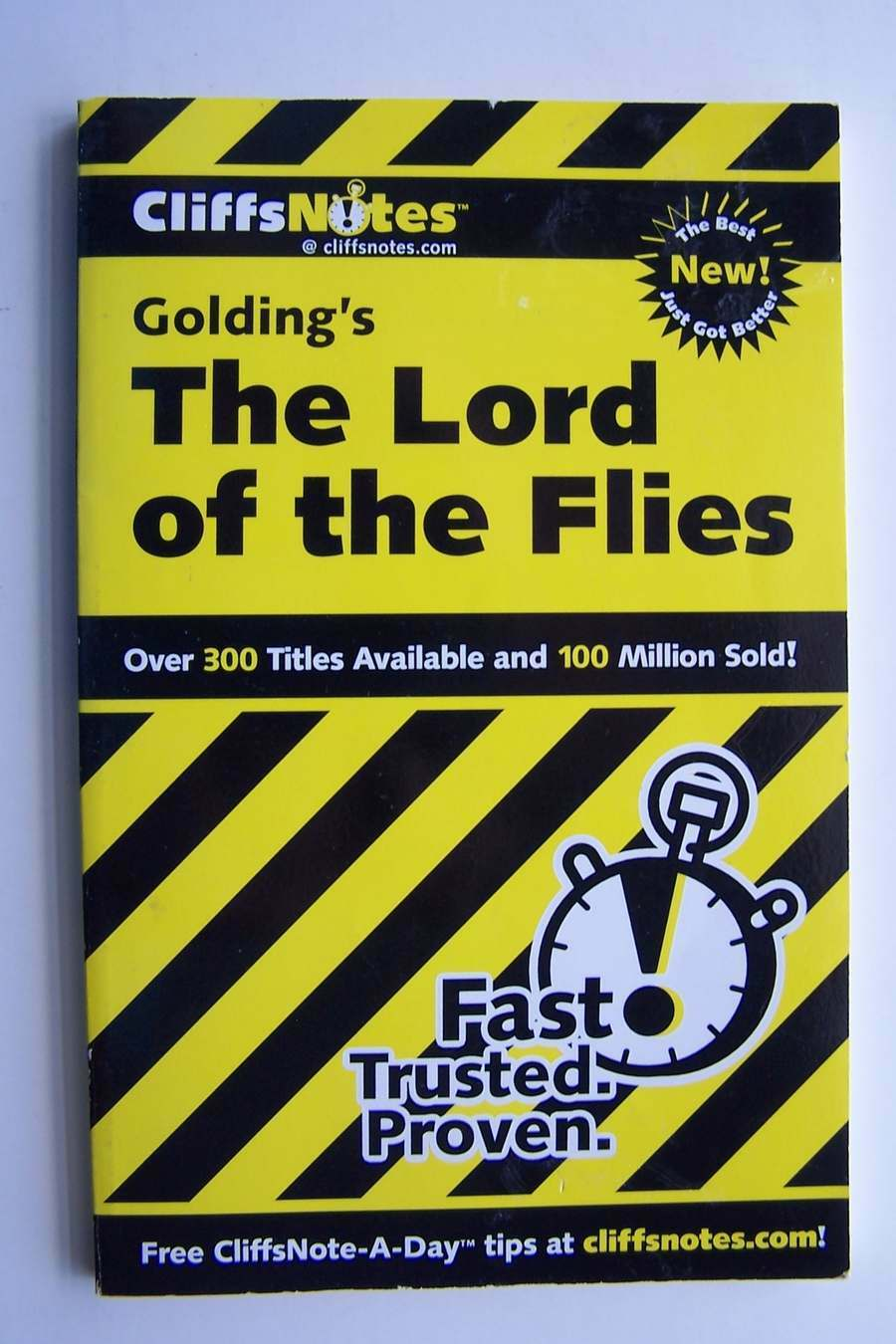 CliffsNotes on Golding's Lord of the Flies (Literature