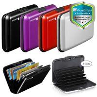 GreatShield RFID Blocking [8 Slot] Transit Card Aluminum Wallet Lock Case Holder