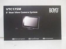 Boyo 5IN LIC PLT Rear CAM VTC175M
