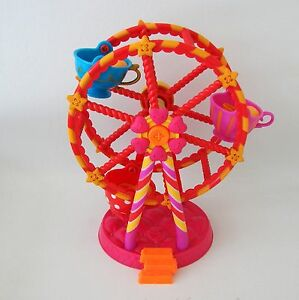 Tea-Cup-Ferris-Whee-Mini-Lalaloopsy-Toy-Retired-MGA-Entertainment-Spins-No-Doll