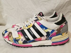 competitive price 96873 5d5dd Image is loading Adidas-Originals-ZX-700-Camo-Series-Multicolor-US-