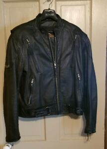 GENUINE-HARLEY-DAVIDSON-MEN-039-S-M-LEATHER-JACKET-NICE