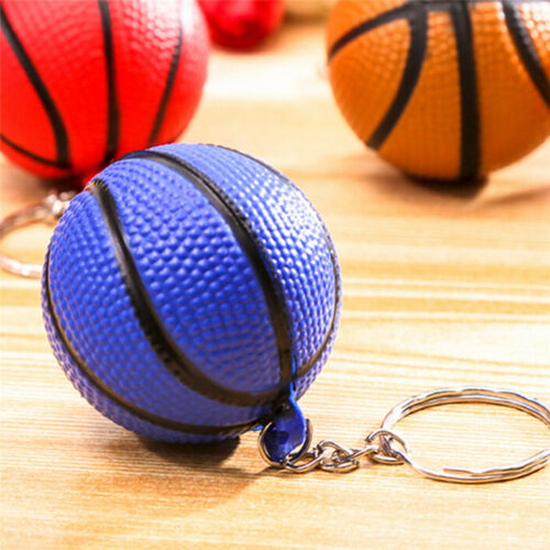 Basketball Key Chain Cute Ball Keyring keychain Jewelry Gifts Creative Random o*