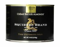 Squirrel Brand Nuts Creme Brulee Almonds 18 Ounce Can 1 Free Shipping