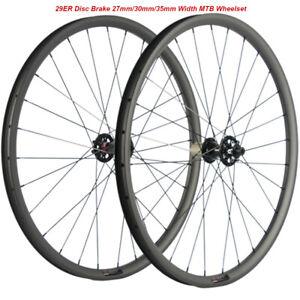 29ER-Carbon-Mountain-Bicycle-Wheels-MTB-Wheelset-Disc-Brake-Wheels-QR-THRU-AXLE