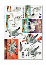 Toller LeSuh 3D Motivbogen Etappenbogen 3D Bild  Einhorn / Pegasus (017)
