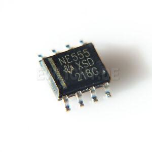 Ne555 Ne555p 555 Minuteur Sop8 Smd Ti Circuit Intégré Ic Lm555 Neuf!-afficher Le Titre D'origine DernièRe Technologie