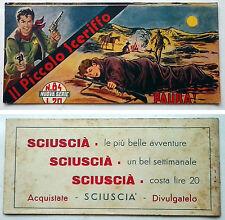 Striscia IL PICCOLO SCERIFFO IIª Serie N 84 TORELLI 1953