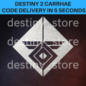 Destiny-2-Carrhae-Emblem-INSTANT-DELIVERY-PS4-Xbox-One-PC-RARE-NEW-LIMITED