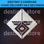 Destiny-2-Carrhae-Emblem-INSTANT-DELIVERY-PS4-Xbox-One-PC-RARE-NEW-LIMITED miniatuur 1