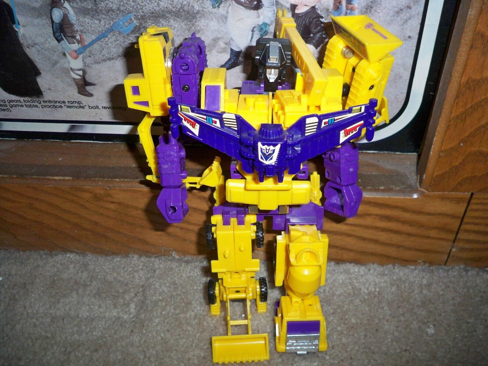 G2 Transformers Devastator Gelb Original Vintage near complete