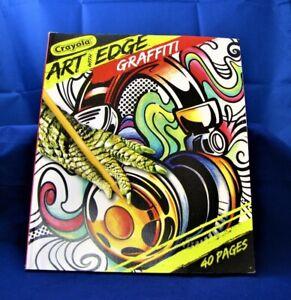 Crayola ~ Art with Edge Graffiti ~ 40 Premium Coloring ...