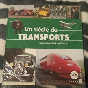Un siècle de transports de Piccard Bertrand | Livre | état très bon