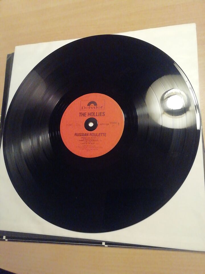 LP, The Hollies, Russian Roulette