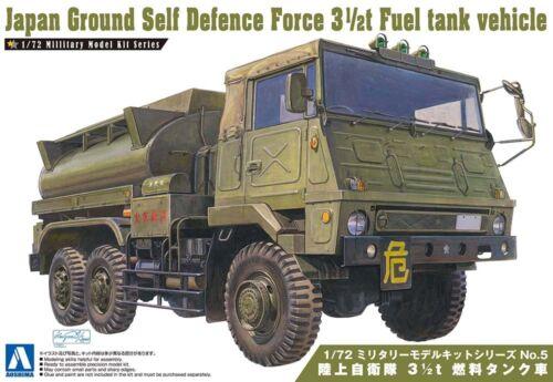 JGSDF 3 1//2 t Fuel Tank Truck Militär 1:72 Model Kit Bausatz Aoshima 007952