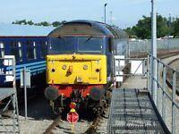 Class 57 57010 6x4 Quality British Rail Photo