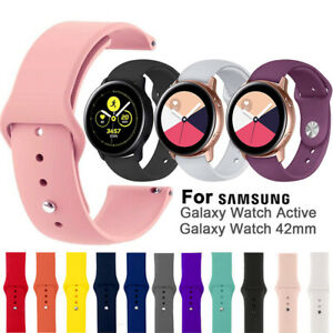 20mm-Replacement-Watch-Band-Silicone-Strap-For-Samsung-Galaxy-Watch-Active-42mm