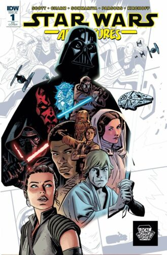 STAR WARS ADVENTURES 1 LCSD LOCAL COMIC SHOP DAY VARIANT 2017 NM