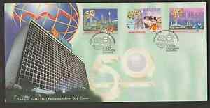 F240-MALAYSIA-1999-50TH-ANNIVERSARY-OF-NATIONAL-ELECTRICITY-BHD-FDC