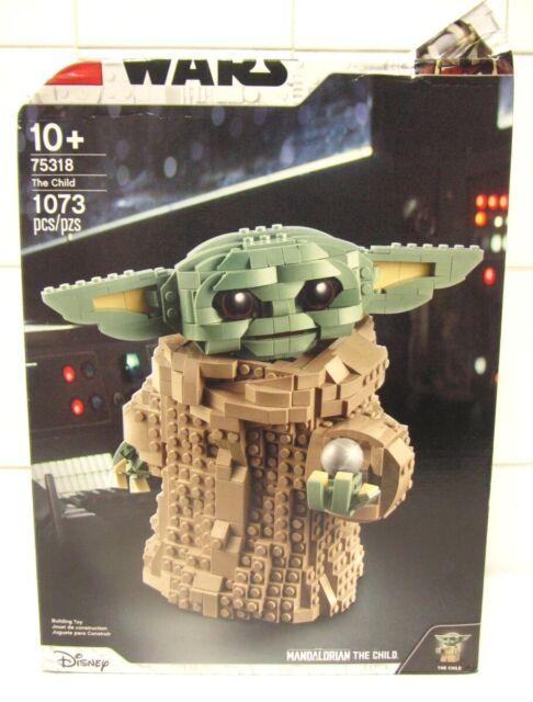 LEGO Star Wars: The Mandalorian The Child 75318  Building Kit *Damaged Box*